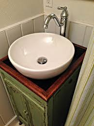 bathroom vessel sink ideas lovely ideas glass vessel sinks crackle