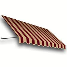 Window Awnings Home Depot Metal Aluminum Stationary Awnings Awnings The Home Depot