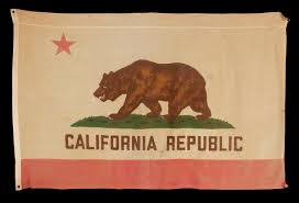 California Bear Flag Republic Jeff Bridgman Antique Flags And Painted Furniture Vintage