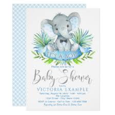 baby boy shower invites baby boy shower invitations zazzle