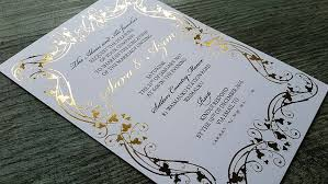 wedding invitations auckland foil printed wedding invitations new zealand silver gold black white