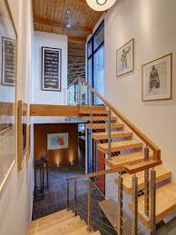 Indoor Railings And Banisters Cable Stair Railing Houzz