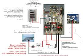 solar power system wiring diagram electrical engineering blog with