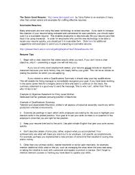Best Resume Summary Examples by Best Resume Summary Examples Free Resume Example And Writing