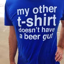 Gift For Dad by Funny Beer Gut T Shirt A Gift For Dad On Father U0027s Day Birthday