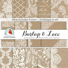 photography backdrop paper burlap wedding paper burlap lace digital paper rustic wedding