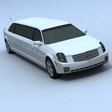 cadillac cts limo cts limousine 3d model