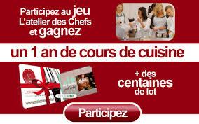 jeux de concours de cuisine gratuit le jeu de l atelier des chefs des cours de cuisine à gagner