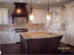 Kitchen Backsplash White Cabinets by White Kitchen Cabinets Travertine Floor U2013 Quicua Com