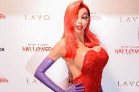 Jessica Rabbit Halloween Costume Heidi Klum Lives Tease Sexiest Halloween Costume