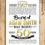 50th birthday invitations for men 40 50th birthday invitation