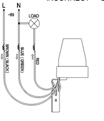 a dawn to dusk light switch wiring diagram for photocell sensor