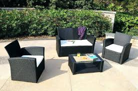 White Resin Patio Table Plastic Patio Furniture Sets White Plastic Patio Furniture Set