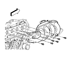 repair instructions intake manifold removal s t truck 2001