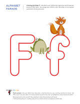 letter f worksheets sparks