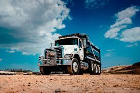 mack dump truck mack trucks announces world of concrete vocational truck lineup