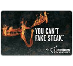 longhorn gift cards longhorn steakhouse gift card 25 50 or 100 email delivery