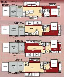 Toy Hauler Floor Plans Roaming Times Rv News And Overviews