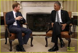 Barack Obama Oval Office Prince Harry Meets With President Obama In The Oval Office Photo