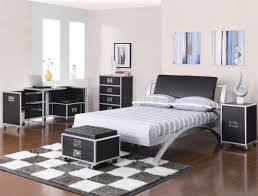 silver bedroom decor excecuted on your own design bedroom black