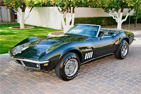 1969 convertible corvette 1969 chevrolet corvette convertible 98158