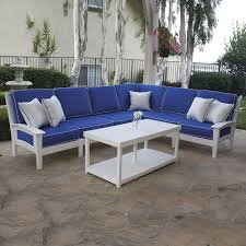 Patio Sectional Furniture Clearance Outdoor Aluminum Seating Patio Furniture 4 Outdoor