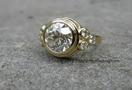 diamond hand rings images Made custom gold and diamond engagement anniversary right hand jpg