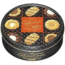 bourbon japanese butter cookies assorted biscuit tin