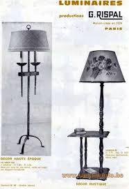 Paris Floor Lamp Rispal Pendant Light Vintage Info