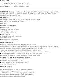 Personal Injury Paralegal Resume Paralegal Resume Templates Download Free U0026 Premium Templates