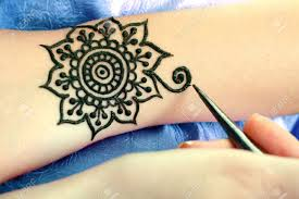 color tribal tattoo stock photos u0026 pictures royalty free color