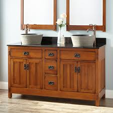 Bathroom Craftsman Vanities Pertaining To Vanity Plan Bonus Room - Bathroom vanities double vessel sink