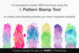 photoshop breakthrough hacking the pattern stamp tool on behance