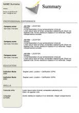 Modern Resume Templates Word Free Resume Templates To Download Examples Of Resumes