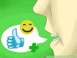 Comfort Betrays Lyrics How To Forgive Someone Who Betrays You With Pictures Wikihow