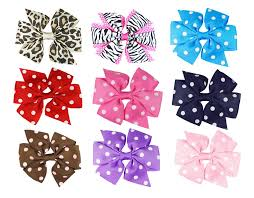 the ribbon boutique wholesale 4 boutique hair bows 20 assortment hairbows