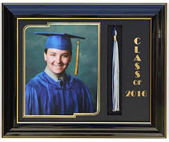 graduation frames graduation frame 8x10 black black 2016 customizable