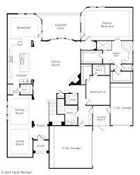 homes with two master bedrooms salerno floor plan at avalon at riverstone 70s in sugar land tx