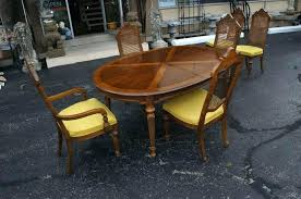 drexel heritage dining table drexel dining room set mid century modern dining room tables mid
