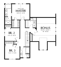 Second Floor Plans North Andover 2514 3 Bedrooms And 2 Baths The House Designers