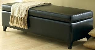 Bench Ottoman With Storage Storage Ottoman Ikea Storage Bench Leather Ottoman Storage Bed