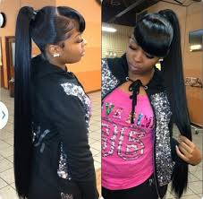 swoop ponytail hairstyles with it weave ponytails you have to see to believe