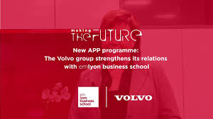 volvo group the volvo group streghtens its relations with emlyon business