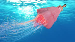 jellyfish dress jellyfish rihanna s grammy dress your meme