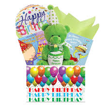 Happy Birthday Gift Baskets Baby First Birthday Gift Basket At Gift Baskets Etc