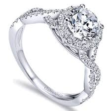 wedding rings setting images Gabriel er7543 criss cross halo engagement ring freedman jewelers jpg