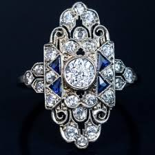 what you need to know about art deco engagement rings the