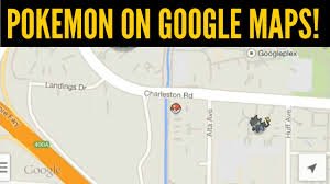Maps Go How To Play Pokemon On Google Maps Google U0027s April Fool U0027s Joke