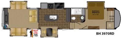 heartland 5th wheel floor plans new 2016 heartland bighorn 3970rd fifth wheel at wilkins rv
