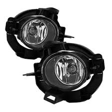 spyder nissan rogue 2008 2013 oem fog lights w cover and switch